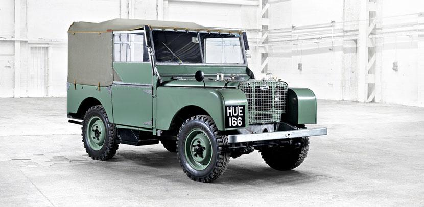 Icônicos Land Rover