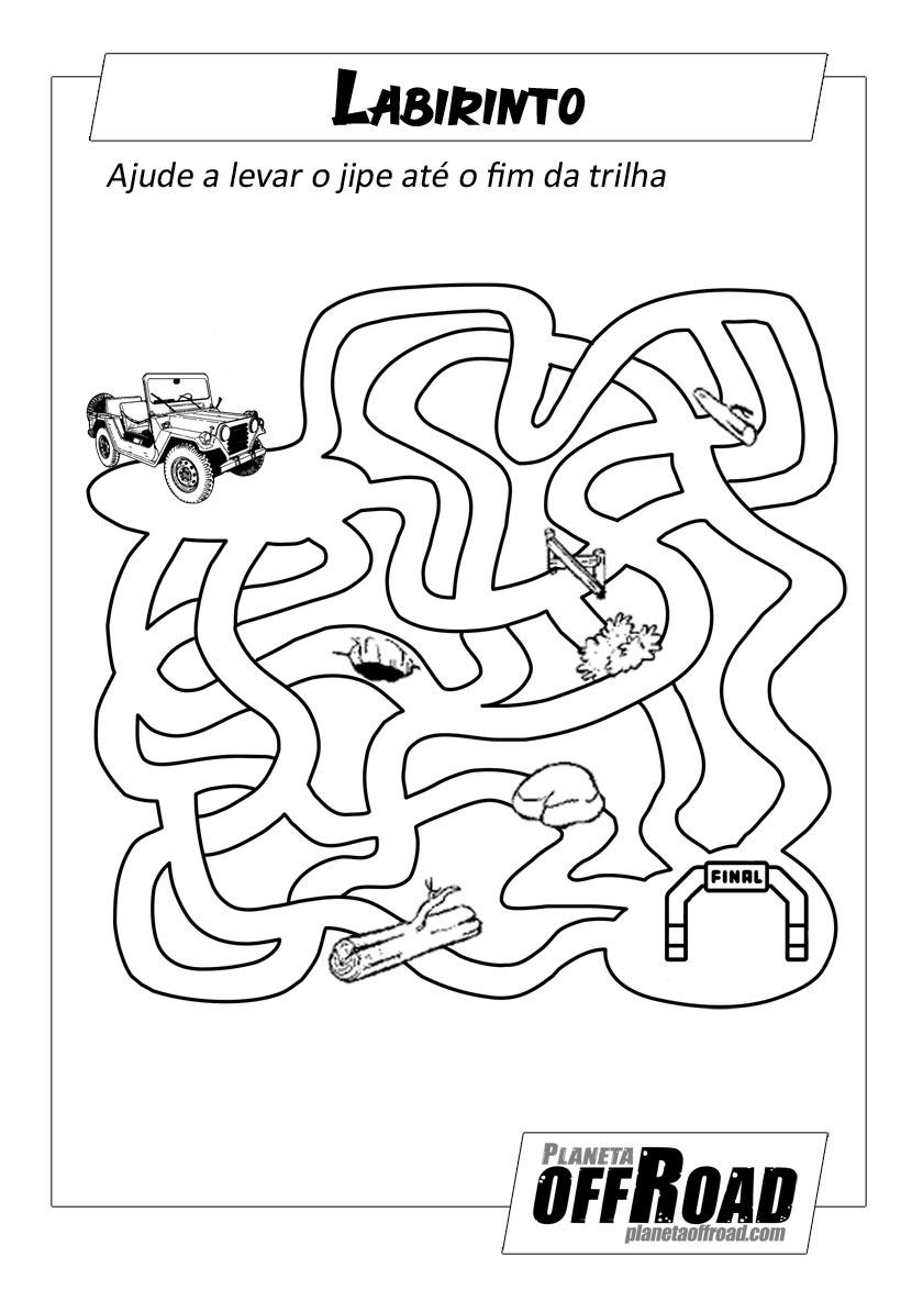 Passatempo Labirinto