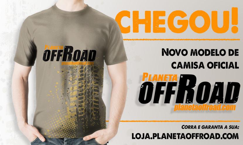 Camisa Planeta Off-Road