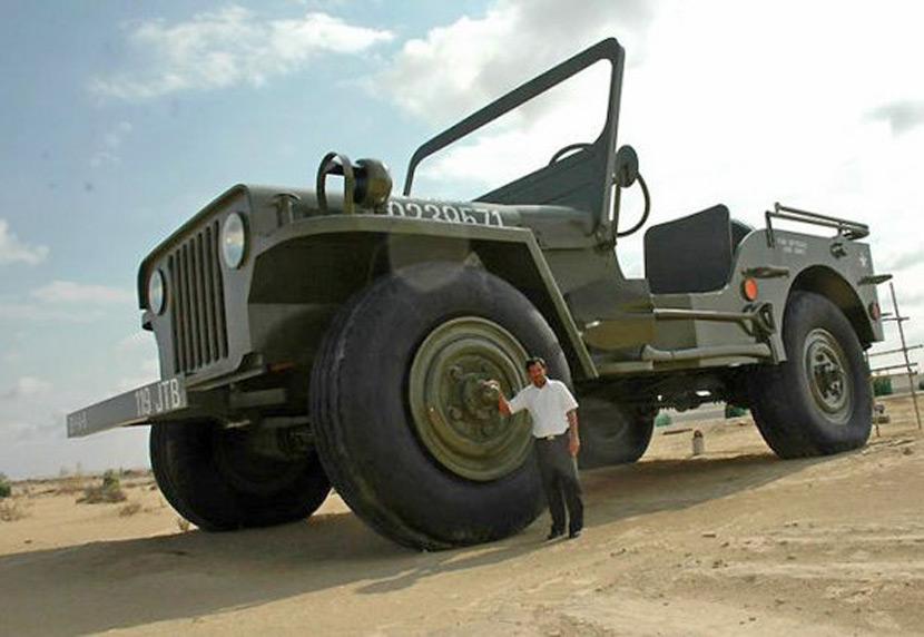 Jeep gigante