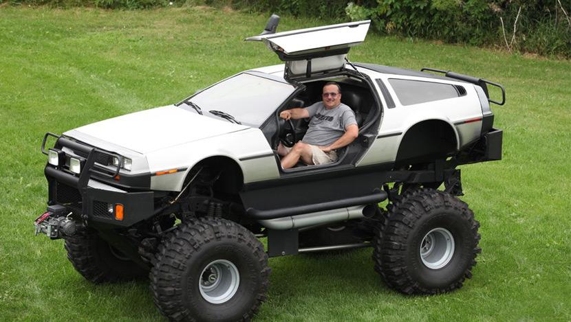 Monster DeLorean