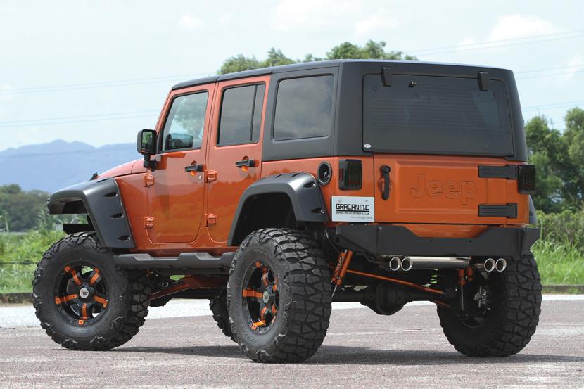 Jeep JK Japan Style